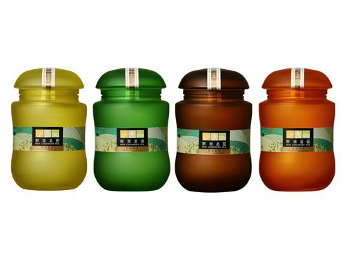新洲-玻璃茶罐