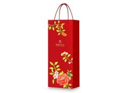 红色 长条盒 手提袋